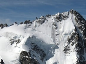 Image of Aiguille du Chardonnet (3 824 m / 12 546 ft)