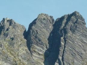 Image of Traverse de la pointe de la Vuzelle (from Refuge du Grand Bec), Pointe de la Vuzelle (2 573 m / 8 442 ft)