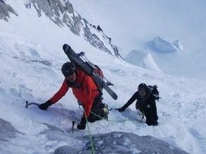 Image of Gervasutti Couloir, Tour Ronde (3 792 m / 12 441 ft)