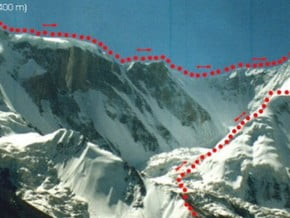Image of Travers, Marble Wall Peak (6 435 m / 21 112 ft)