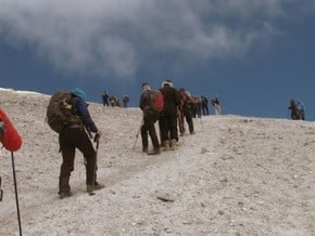 Image of South Route, Damavand (5 671 m / 18 606 ft)
