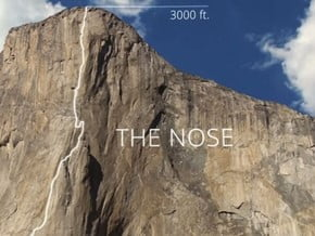 Image of The Nose, El Capitan (2 307 m / 7 569 ft)