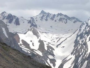 Image of No name, Peak Kyzylbash (4 200 m / 13 780 ft)