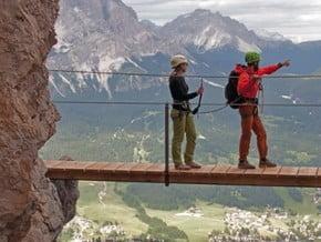 Image of Dolomites Via Ferrata, Alps