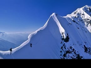Image of South-West Ridge, Ushba (4 700 m / 15 420 ft)