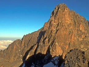 Image of Mount Kenya (5 199 m / 17 057 ft)