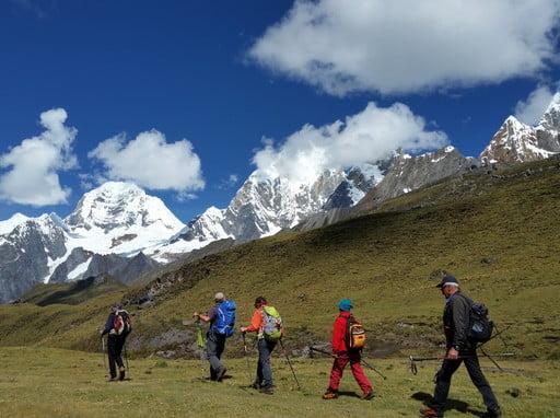Full Huayhuash Trekking Peru Guided Treks