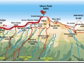 Image of Shira, Kilimanjaro (5 895 m / 19 341 ft)