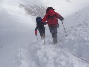 Image of Normal Route, Lenin Peak (7 134 m / 23 406 ft)