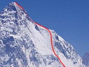 Image of Cesen Route, K2 (8 611 m / 28 251 ft)
