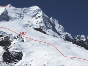 Image of Normal Route, Mera Peak (6 476 m / 21 247 ft)