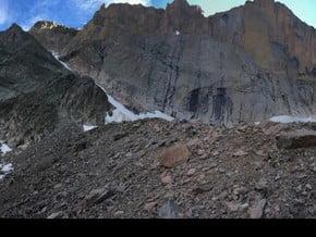 Image of North Face, Longs Peak (4 329 m / 14 203 ft)