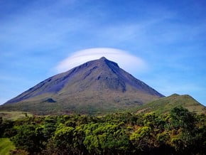 Image of Mount Pico, Azores (2 351 m / 7 713 ft)