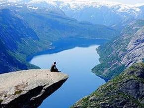 Image of Kjeragbolten Hike, Scandinavian Mountains