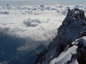 Image of Monte Rosa (4 634 m / 15 203 ft)