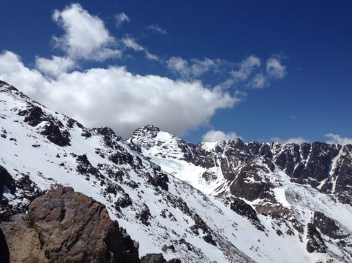 3 Days trekking atlas mountain &  climbing Toubkal mount 4167m