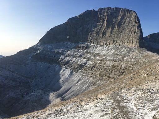 Greece Olympus Mountain September 2021