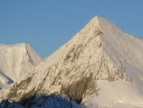 Image of North-West Ridge, Finsteraarhorn (4 274 m / 14 022 ft)
