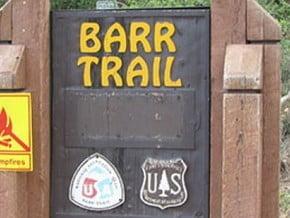 Image of Barr Trail, North American Cordillera