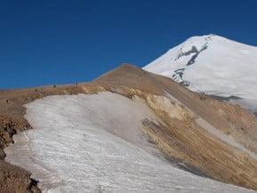 Image of Round Mount Elbrus, Caucasus Mountains