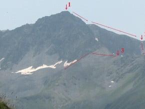 Image of Normal Route, Tikanadze (3 365 m / 11 040 ft)