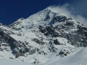 Image of South-West Ridge, Mta Tetnuldi (4 852 m / 15 919 ft)
