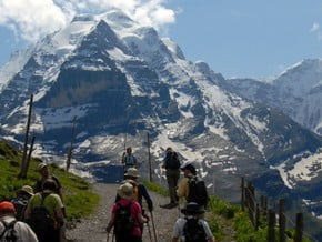 Image of Eiger trail: Eigergletscher - Grindelwald, Alps
