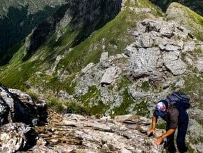 Image of North-East Crest, Kabaš (2 391 m / 7 844 ft)