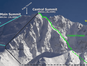 Image of Normal Route, Shishapangma (8 027 m / 26 335 ft)