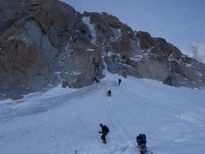 Image of Chere Couloir, Mont Blanc du Tacul (4 248 m / 13 937 ft)