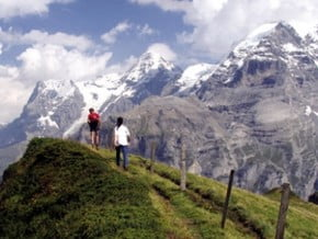 Image of The Eiger Trail: Gstaad to Grindelwald, Alps