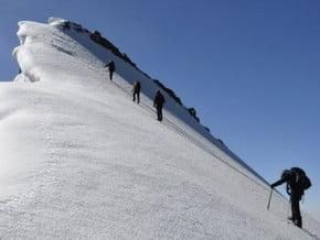 Image of Normal Route, Peak Shurovskogo (4 259 m / 13 973 ft)
