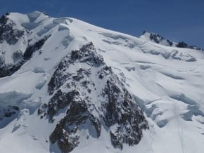Image of Mont Blanc du Tacul (4 248 m / 13 937 ft)