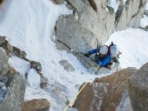Image of Cassin Ridge, Denali (6 195 m / 20 325 ft)