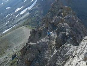 Image of Normal Route, Bortsov za Mir (3 760 m / 12 336 ft)