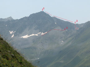 Image of Tikanadze (3 365 m / 11 040 ft)