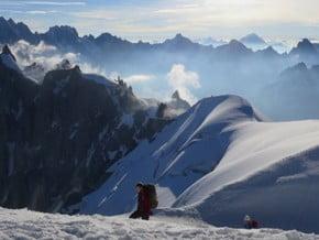 Image of Normal Route, Mont Blanc du Tacul (4 248 m / 13 937 ft)