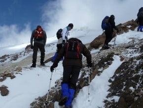 Image of North Face, Damavand (5 671 m / 18 606 ft)
