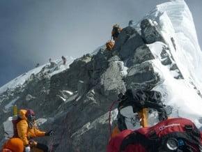 Image of via South Col, Everest (8 848 m / 29 029 ft)