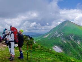 Image of Breskul Route, Goverla (2 061 m / 6 762 ft)