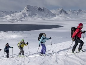 Image of Ski Touring in Greenland