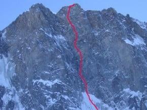 Image of Eldorado, Grandes Jorasses (4 208 m / 13 806 ft)
