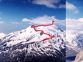 Image of North-East Ridge, Bazardyuzi (4 466 m / 14 652 ft)