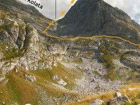 Image of Normal Route, Zla Kolata (2 534 m / 8 314 ft)