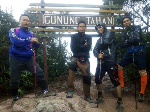 Trans Tahan Range (Merapoh - Mount Tahan - Kuala Tahan)