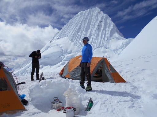 Alpamayo climbing Peru - Cordillera Blanca - Peruvian Mountains