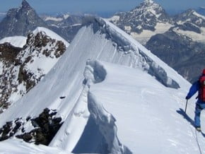 Image of Swiss Normal Route, Dufour Spitze (4 634 m / 15 203 ft)