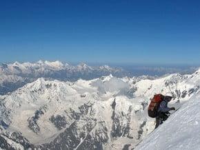Image of via Borodkin Rib, Ismoil Somoni Peak (7 495 m / 24 590 ft)