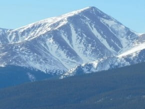Image of Mount Elbert (4 396 m / 14 423 ft)