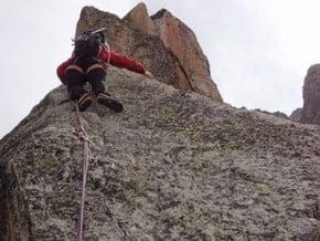 Image of South-West Face, Aiguille du Peigne (3 192 m / 10 472 ft)
